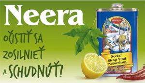 Detoxikačná kúra Neera®