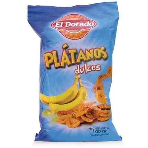 Banánové lupienky platanky prirodzene sladké 100g