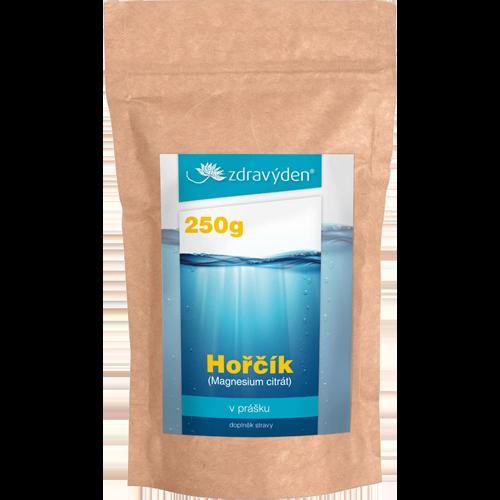 Horčík (Magnezium citrát) prášok 250g
