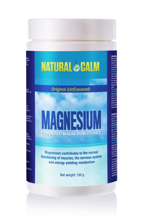 Magnézium Natural Calm – citrát horčíka originál bez príchute 150g