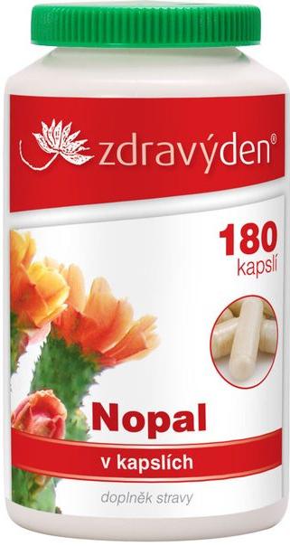 Nopal BIO tablety 180ks